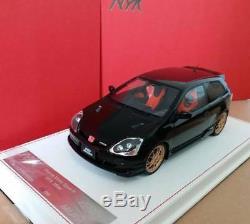 1/18 AMC Model Mugen Honda Civic Type R EP3 Nighthawk Black 2004 late version