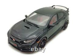 118 LCD MODELS Honda Civic Type-R Black 2020 LCD18005B-BL Miniature