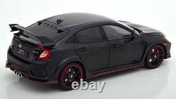 118 LCD Models Honda Civic Type-R 2018 blackmetallic