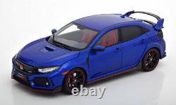 118 LCD Models Honda Civic Type-R 2018 bluemetallic