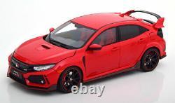 118 LCD Models Honda Civic Type-R 2018 red