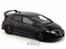 2015 Honda Civic Type R Black 118 Kyosho Samurai KSR18022BK