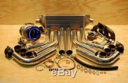485hp Honda B B16 B18 B20 Civic Turbo Kit Type-R Neuf Integra Crx Accord Del