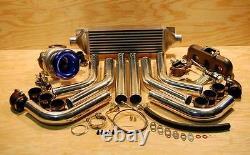 485hp Honda H H22 Civic Turbo Kit Neuf Type-R Integra Crx Accord Del Sol