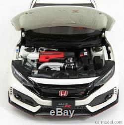 AUTOart 1/18 Honda Civic Type-R (FK8) 2017 Blanc 73266