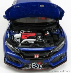 AUTOart 1/18 Honda Civic Type-R (FK8) 2017 Bleu Met 73269