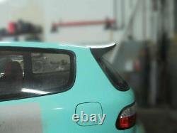 Aile de becquet Osaka style JDM pour Honda Civic Honda Civic Eg 92-95 sir type r