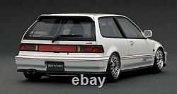 Allumage Modèle 1/18 Honda Civic EF9 Sire Noir Mugen Type Roue IG1291 Ems W / T