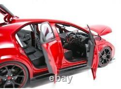Allumage Modèle 1/18 Honda Civic (FK 8) Type R Rouge Fini Objet