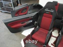 Aménagement Intérieur Sièges Sport Complet Séance Siège Type-R Honda Civic VIII