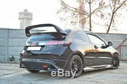 Arrière Spoiler Aileron Tour Honda Civic VIII Type R Mugen Aspect Carbone