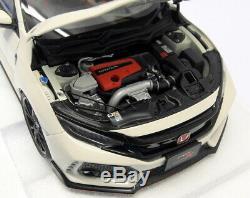 Autoart 1/18 Scale 73266 Honda Civic Type R FK8 Championship White