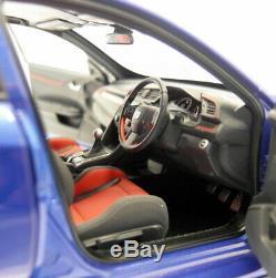 Autoart 1/18 Scale 73269 Honda Civic Type R FK8 Brilliant Sporty Blue