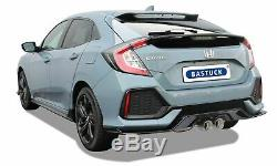 Bastuck Échappement Échappement Sport pour HONDA Civic 1,5 L Turbo Type FK7
