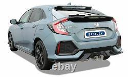 Bastuck Échappement Sport Honda Civic 1,5L Turbo Type FK7 182PS à Partir