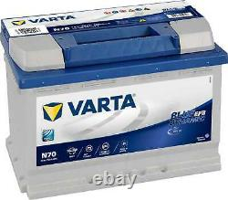 Batterie VARTA Start-Stop Blue Dynamic EFB 70Ah/760A (N70)