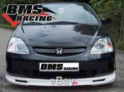 Bms racing Lèvre de Spoiler R2 Pour Honda Civic Type EP 3-trg. 01-03