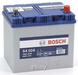 Bosch S4024 Batterie de Démarrage Pour Voiture 12V 60Ah 232x173x225