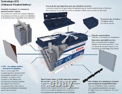 Bosch S4E08 Batterie de Voiture 70A/h-760A