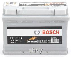 Bosch S5008 Batterie de Voiture 77A/h-780A