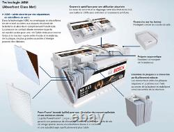 Bosch S5A08 Batterie de Voiture 70A/h-760A