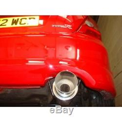 Cobra Sport Honda Civic Type R EP3 00-06 2.5 Échappement Arrière Rond Embout 4