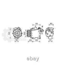 Compresseur Climatisation Pour Honda Civic VIII Hatchback Type-R Bj. 06-12