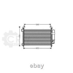 Condensateur Climatisation Pour Honda Civic VIII Hatchback Type-R Bj. 06-12