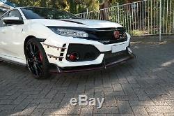 Course Tasse Lèvre de Spoiler avant Approche V. 1 Honda Civic X Type R