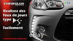 Daylight Type Ds3 Drl Led Honda CIVIC 3 4 5 6 7 Cr-v