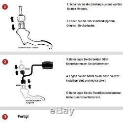 Dte Système Pedal Box 3S pour Honda Civic FN2 2007-2010 2.0L I-Vtec Type R R4 14