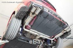 Duplex Sportauspuffanlage Honda Civic 9 FK2 Type-R Chaque 2x90mm