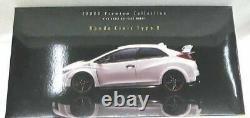 EBBRO Honda Civic Type R 118 Echelle Luxe Collection Blanc Voiture Miniature