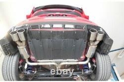 Fox Duplex Silencieux Arrière Chaque 2x90 Type 12 Pour Honda Civic (Ix) Type R