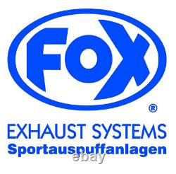 Fox Échappement Sport Honda Civic 6 Type EJ9 EK3 Dreitürer 1.4i 1.4is 1.5i Avec