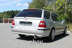 Fox Silencieux Sport 1x90 Type 13 pour Honda Civic VI Aerodeck MC2