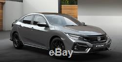 Honda Civic 16-20MY FK7 Hayon Hayon Inférieur Spoiler Poli Métal Type R
