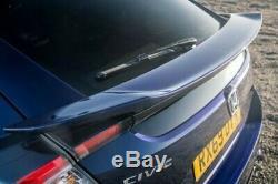 Honda Civic 16-20MY FK7 Hayon Hayon Inférieur Spoiler Rallye Rouge Type R Ctr