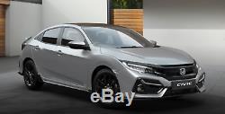 Honda Civic 16-20MY Type R Ligne Sport Hayon Bas Coffre Spoiler Lunaire Argent