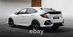 Honda Civic 16-20MY Type R Ligne Sport Hayon Bas Coffre Spoiler Platine Blanc