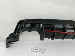 Honda Civic IX Type R 2014- lèvre arrière pare-chocs arrière diffuseur