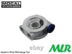 Honda Civic Integra Type R Crx DC2 Mocal 1/2BSP Huile Radiateur Fixation Kit
