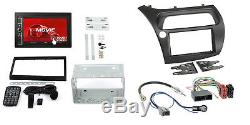 Honda Civic Type R 07-10 2-DIN Autoradio Usd SD IPHONE Android Radioblende