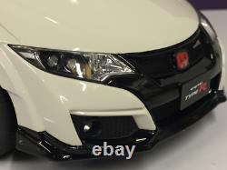 Honda Civic Type R Blanc 118 Échelle Résine Kyosho KSR18022W