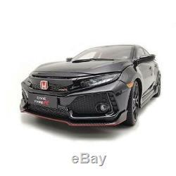Honda Civic Type-R Fk8 Black LCD MODELS 118 LCD18005BL Miniature