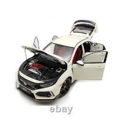 Honda Civic Type-R Fk8 White LCD MODELS 118 LCD18005WH Miniature