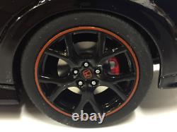 Honda Civic Type R Noir 118 Échelle Résine Kyosho KSR18022BK