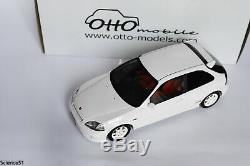 Honda civic type R EK9 white 1/18 otto ottomobile