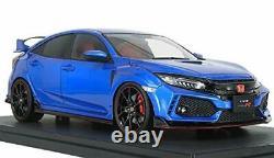 Ignition Model 1/18 Echelle Honda Civic FK8 Type R Brillant Sporty Bleu Métal