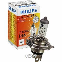 Kit de Phare Pour Honda Civic 3/5-Tür Année Fab. 02.01-10.03 Incl. Philips H4+